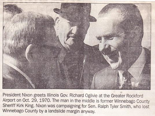 Nixon in Rockford