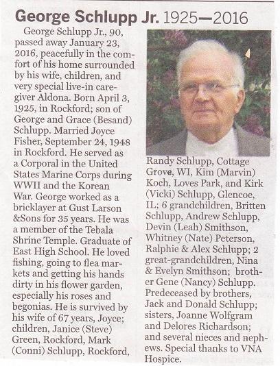 George Schlupp Jr