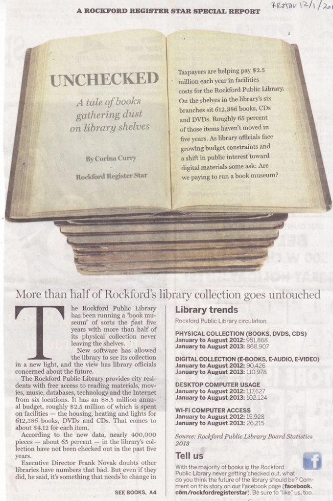 Rockford Public Library Materials Collection