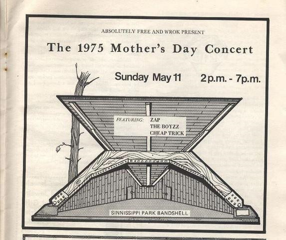 WROK 1975 Mother's Day Concert