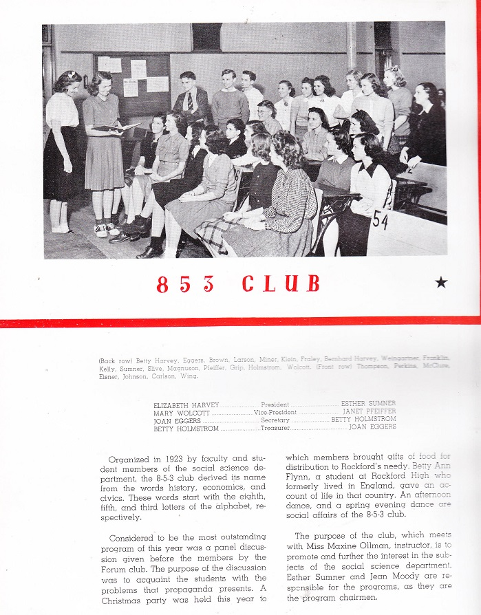 853 Club
