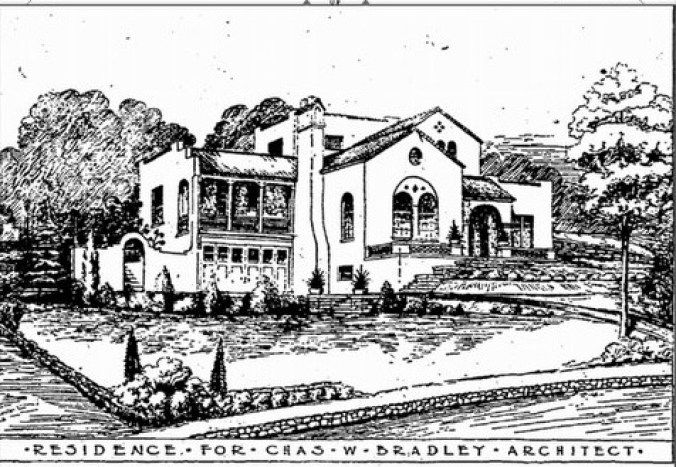 Bradley Heights Chas Bradley house