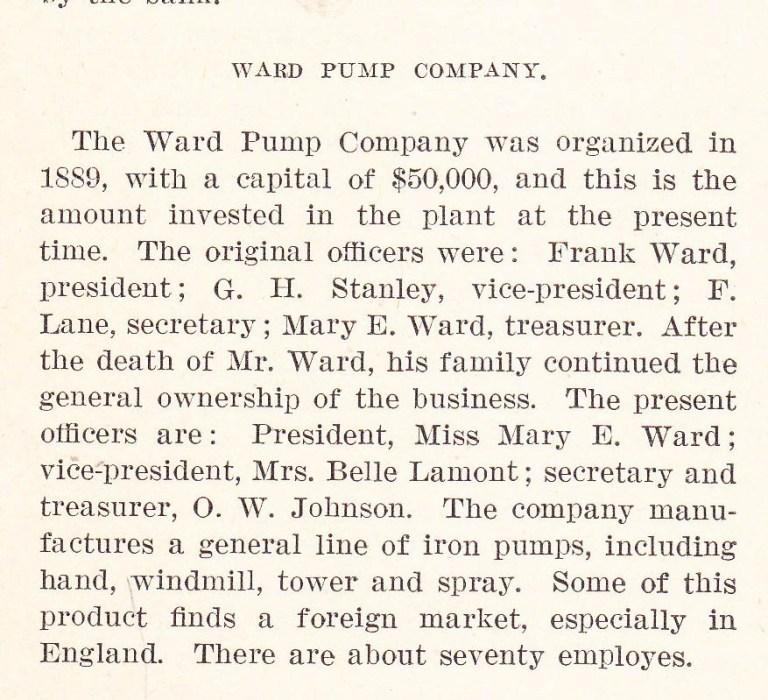 Ward Pump - 2