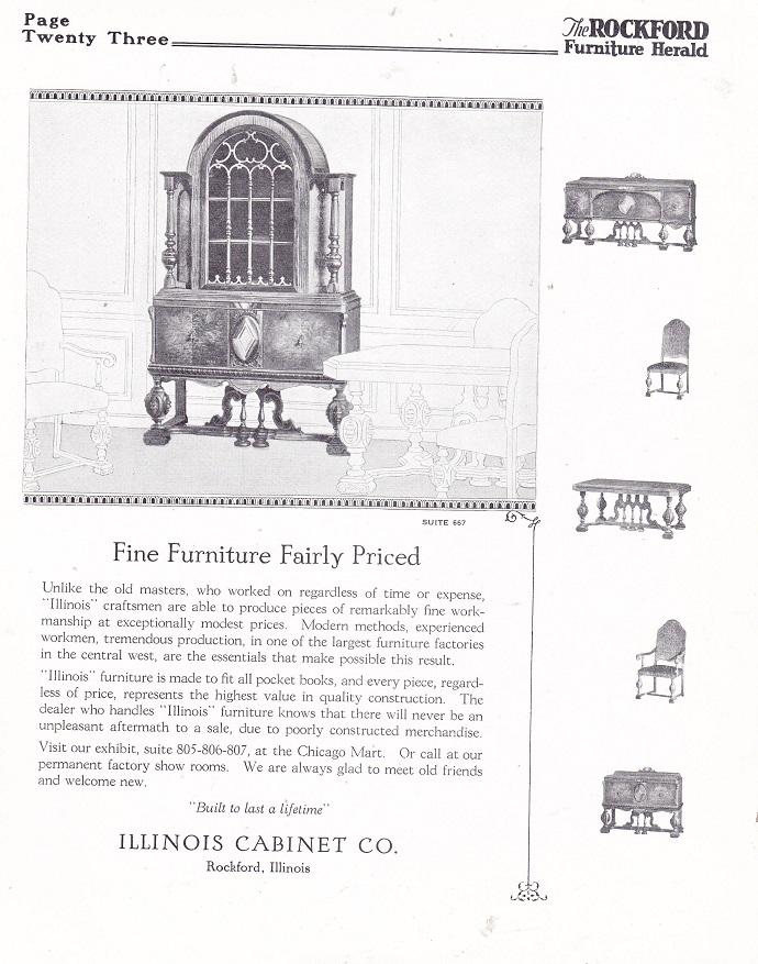 Illinois Cabinet Co.