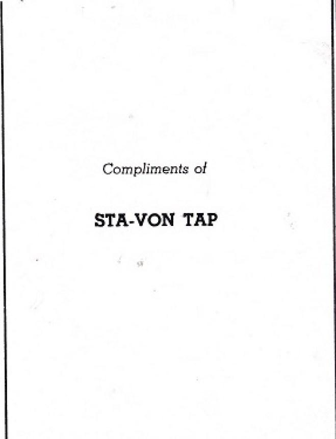 Stay-Von Tap