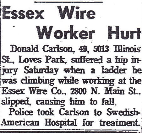 Essex accident - 1
