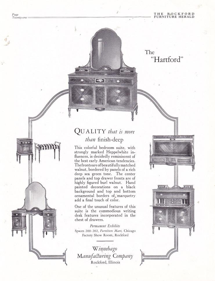 Winnebago Manufacturing Co. – March 1926