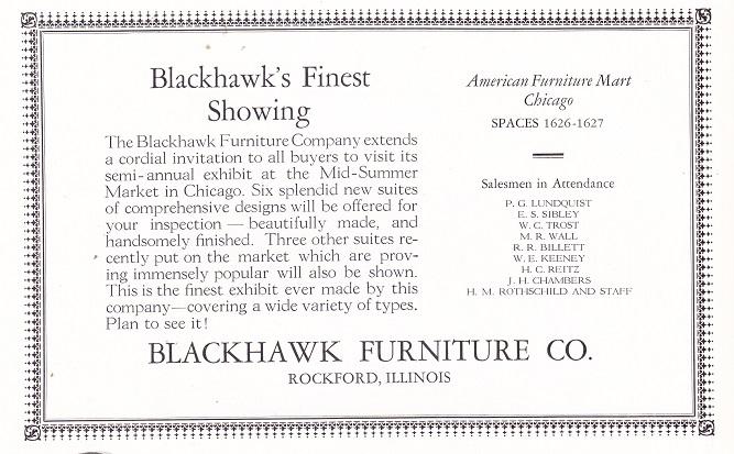 Blackhawk Furniture Co. ...