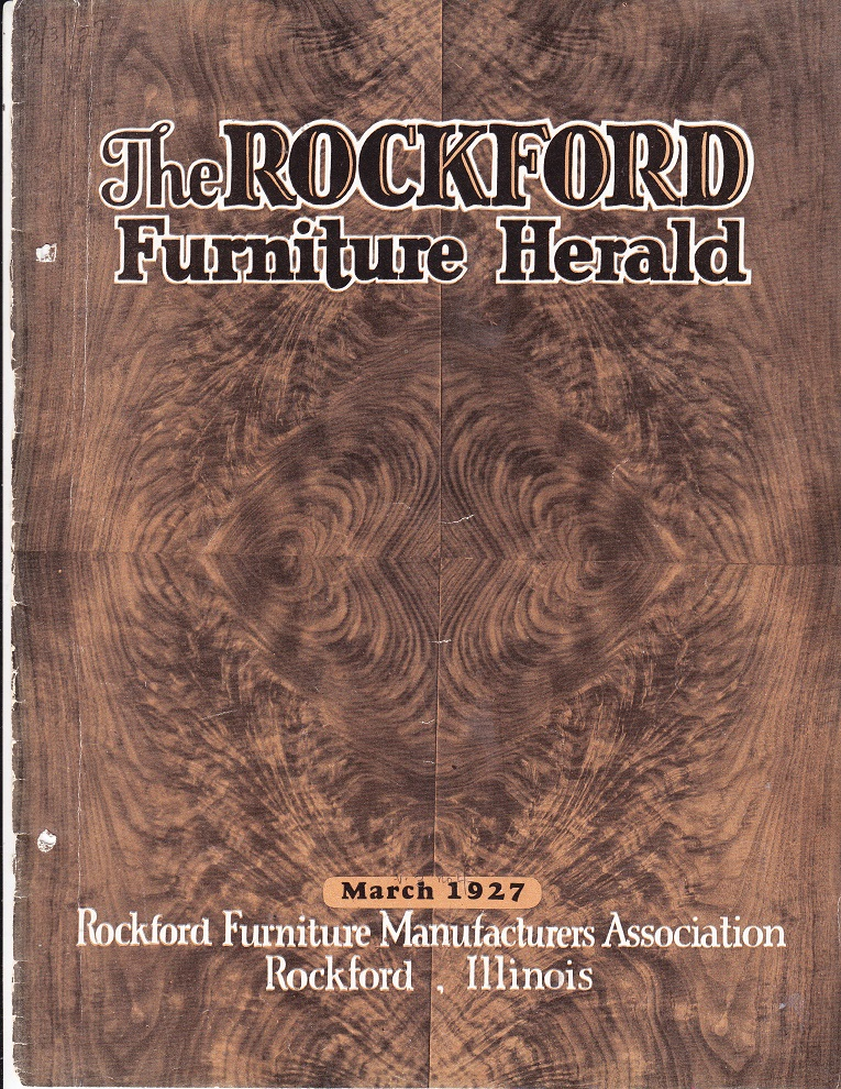 Rockford Furniture Herald, The U2013 March 1927, Cover