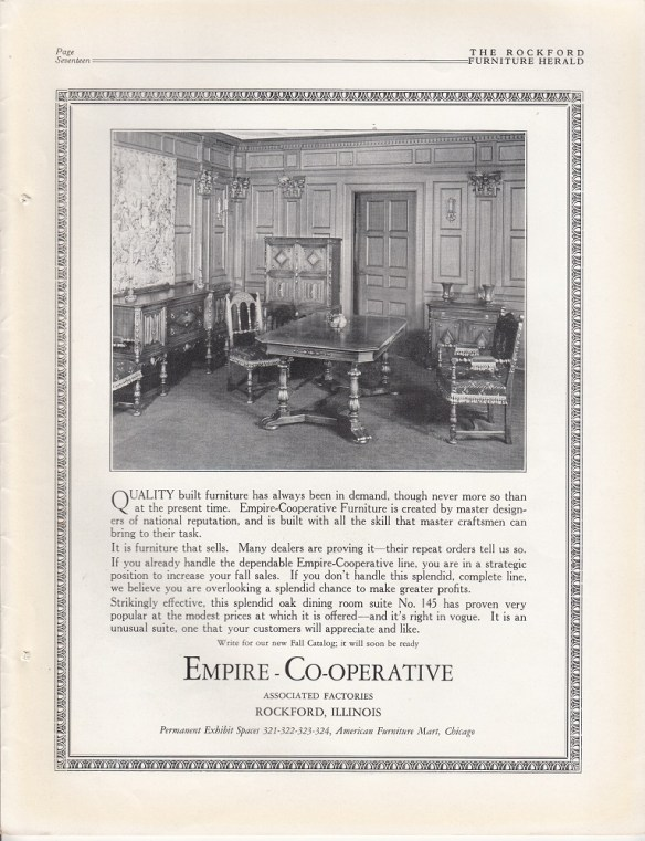 Miraculous Empire Co Operative Furniture Companies May 1927 Rpls Download Free Architecture Designs Embacsunscenecom