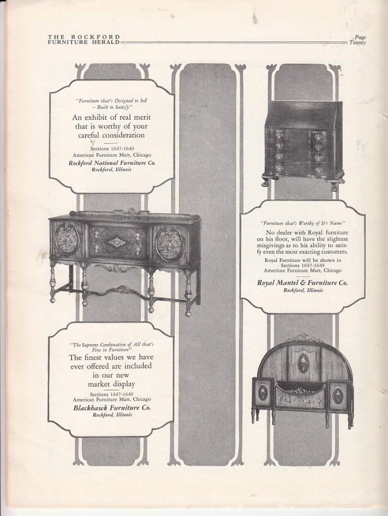 Three Furniture Manufacturers At American Furniture Mart Ad Dec