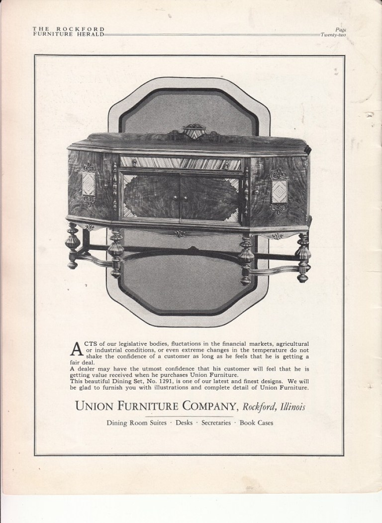 union furniture co rpl s local history