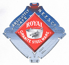 NESCO Royal Granite Steel Ware Logo