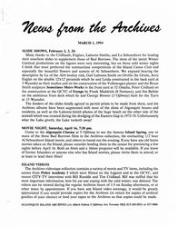 News from the Archives v03-1