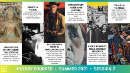 course flyer for 2021 Summer Session 2
