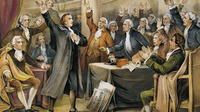 in the speech in the virginia convention patrick henry 3 patrick henry 1736-1799 a successful lawyer he had a reputation for winning  cases because of his persuasive way of speaking urged an armed resistance.