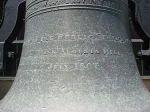 The Inscription on Atlanta's Oldest Fire Bell - Raymond Keen 2013