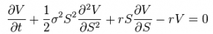 Black Scholes Equation