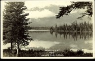 Whistlers Mt from Jasper Park Lodge. circa 1926. peel.library.ualberta.ca/postcards/PC010565.html