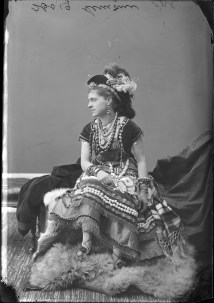Miss Emma Lemoine as a Brigand Queen. http://collectionscanada.gc.ca/pam_archives/index.php?fuseaction=genitem.displayItem&lang=eng&rec_nbr=3477359