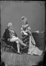 Mr. and Mrs. Thistle as nobles from the time of Louis XVI. http://collectionscanada.gc.ca/pam_archives/index.php?fuseaction=genitem.displayItem&lang=eng&rec_nbr=3477248