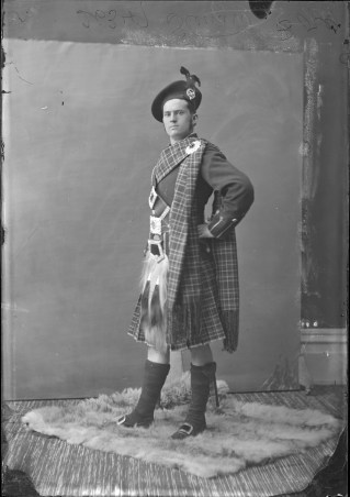 Mr. Stewart as a Highlander (in Stewart tartan). http://collectionscanada.gc.ca/pam_archives/index.php?fuseaction=genitem.displayItem&lang=eng&rec_nbr=3477479