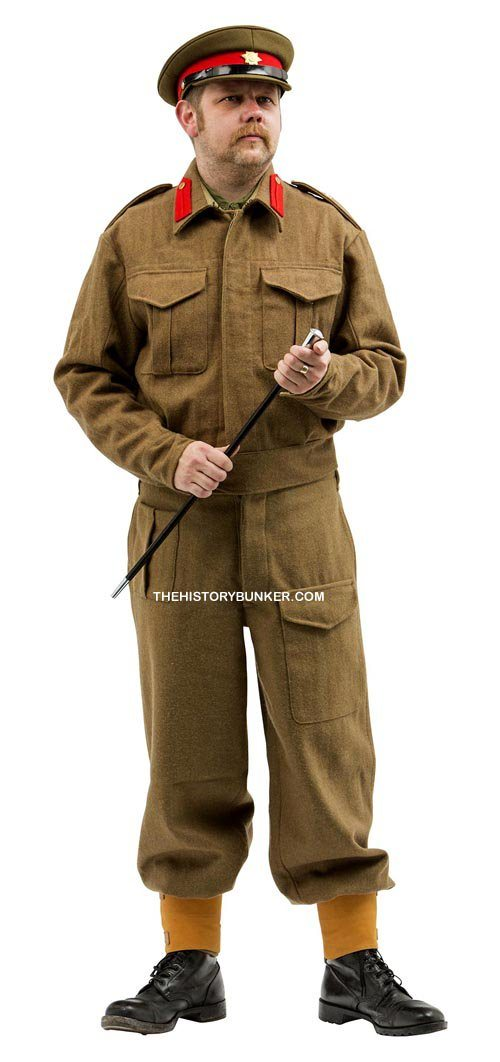 WW2 British army uniform for hire Staff officer Battle Dress