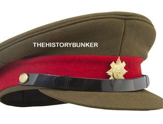 WW2 British caps and helmets