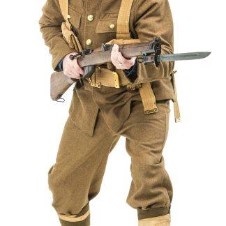 WW1 British army uniform for hire