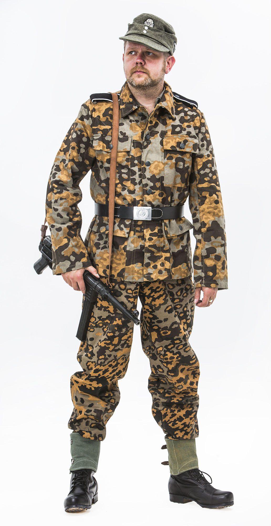 Ww2 German M37 Oak B Autumn Uniform Reproduction Ww1 And