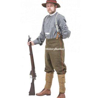 WW1 New Zealand ANZAC uniforms for hire