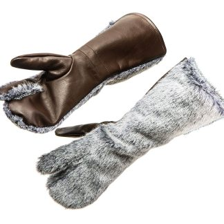 WW1 RFC FUR GLOVES