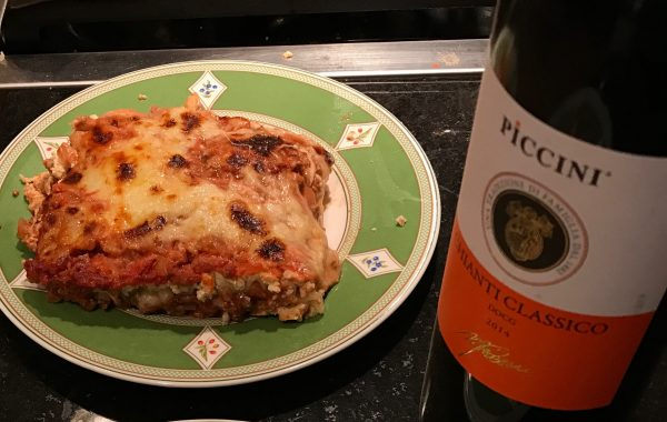 World's Best Three Cheese Lasagna