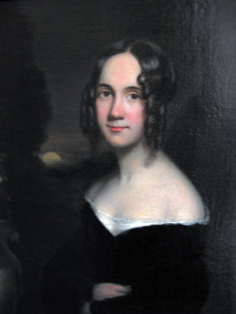 A painting of Sarah Josepha Hale, a key person in Thanksgiving becoming an American holiday