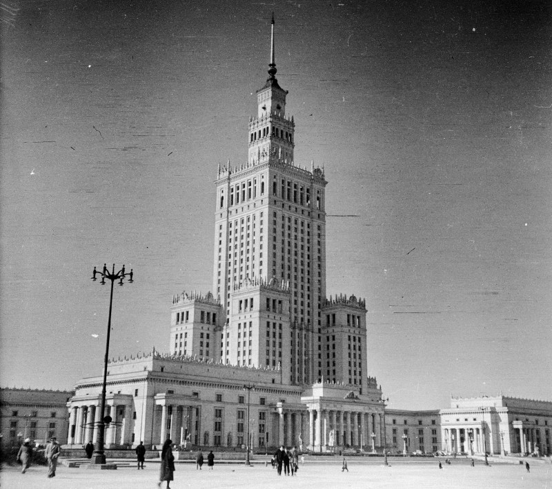 Soviet Palace of Culture and Science in Poland