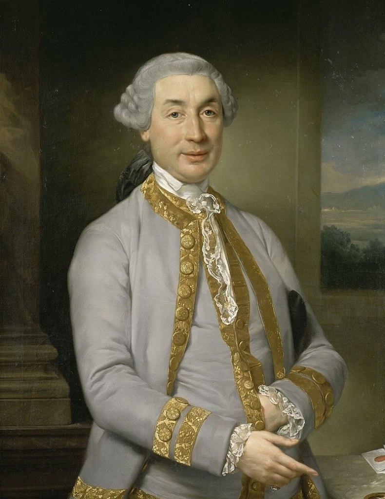 The father of Napoleon, Carlo Buonaparte.