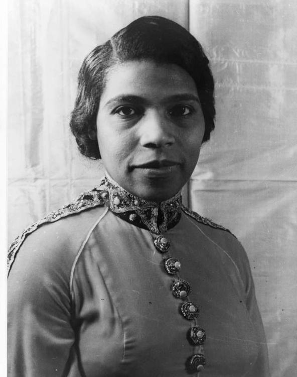 Портрет Мэриан Андерсон, давнего друга Эйнштейна, который принимал ее в 1937 году после того, как ей отказали в номере в отеле, 1966 год. Фото : PICRYL // Public Domain