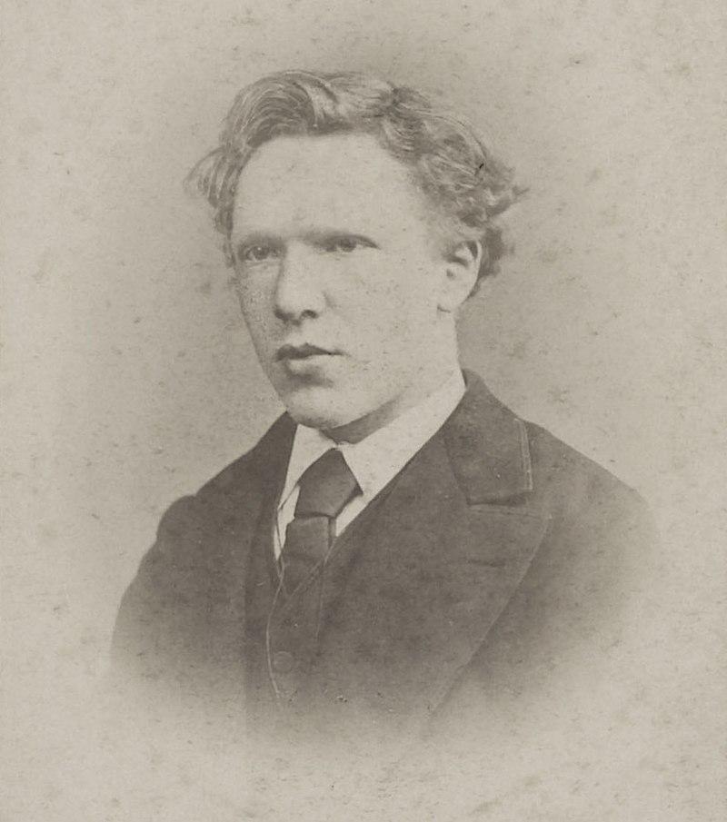 Real photograph of Vincent Van Gogh