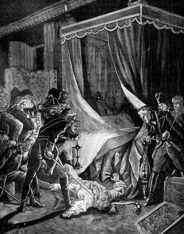 The murder of Paul I