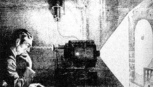Tesla's thought camera