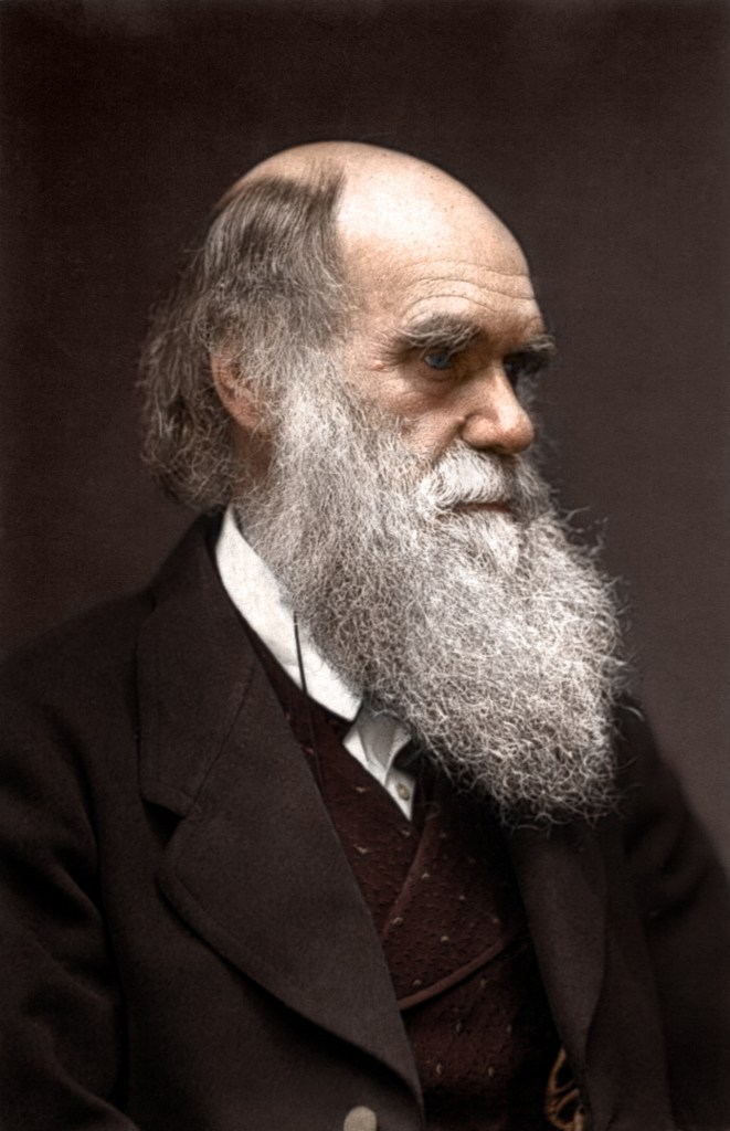 Charles Darwin Color Photo