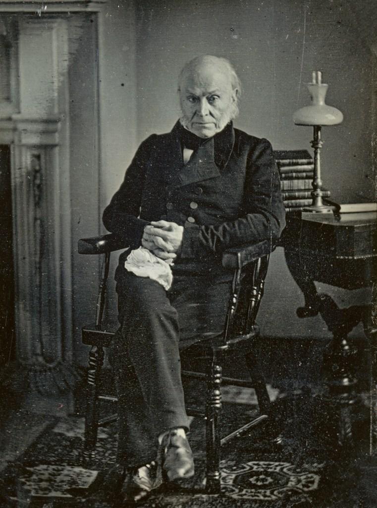 Photo of 6th US President John Quincy Adams