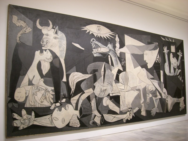 Picasso painting Guernica