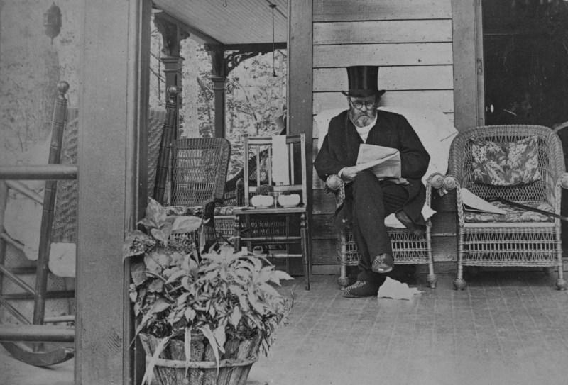 Last photograph taken on Ulysses S. Grant, 1885