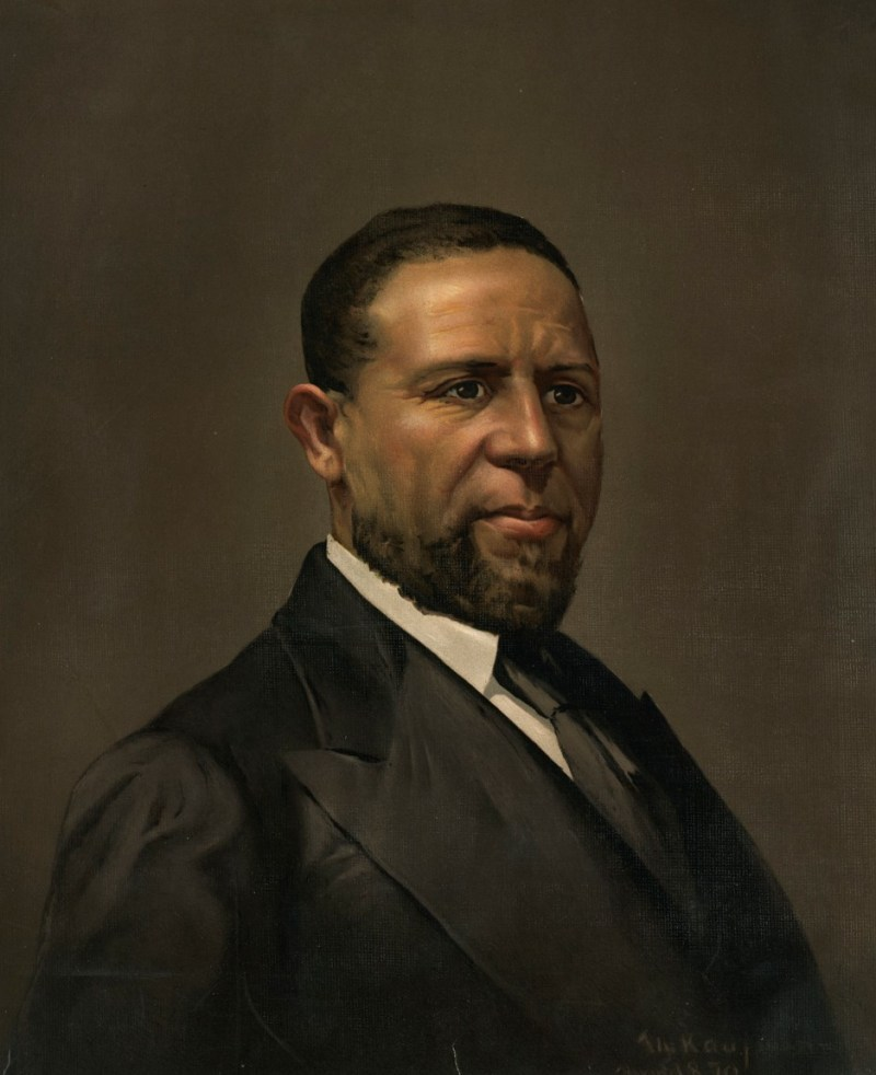 Senator Hiram Rhodes Revels painting