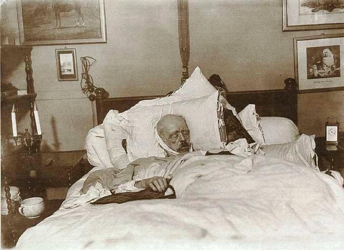 Otto von Bismarck on his deathbed