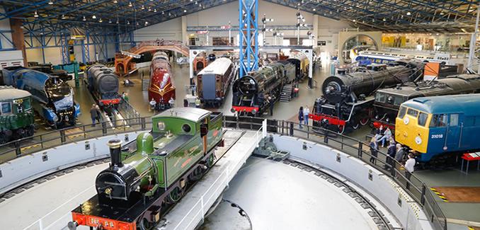 National Railway Museum, York, Engeland