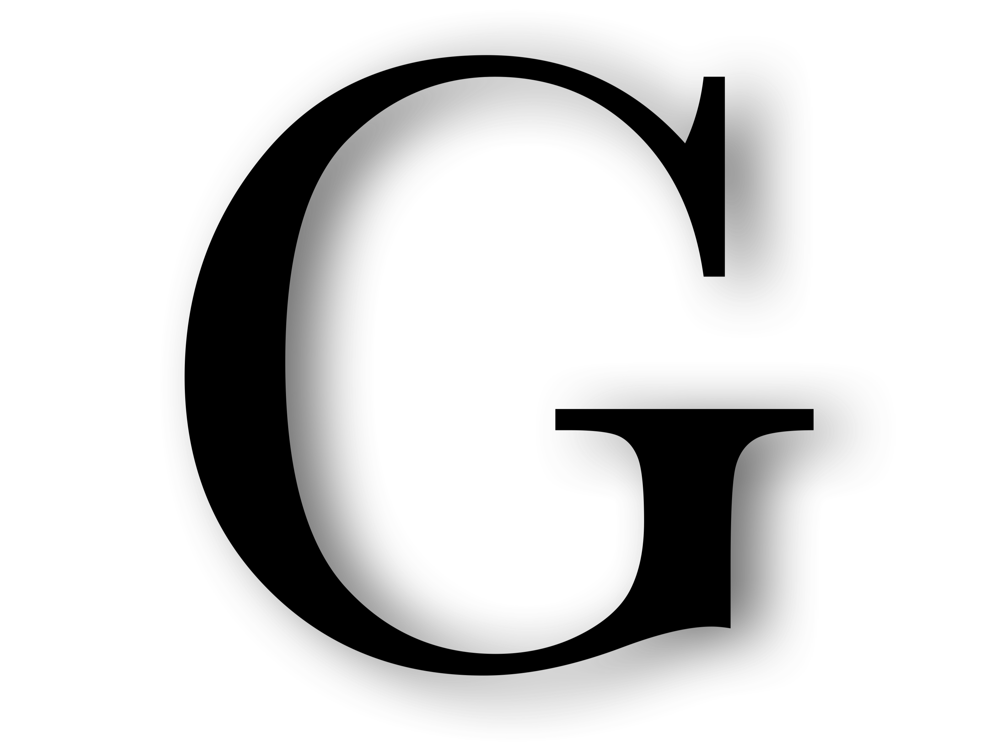 the letter g history