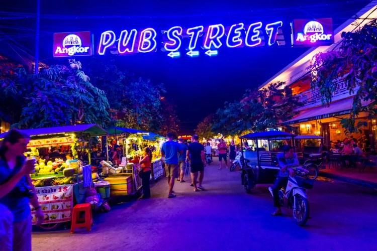 Cambodia - Siem Reap - Pub Street - Collab Entry