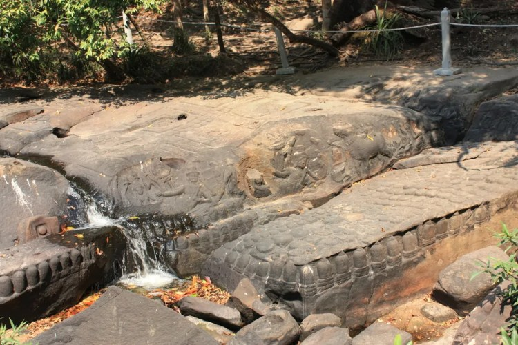 Cambodia - Siem Reap - River of Thousand Lingas - Collab Entry